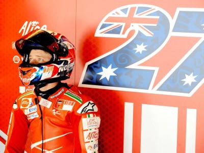 La Ducati va, Stoner meno