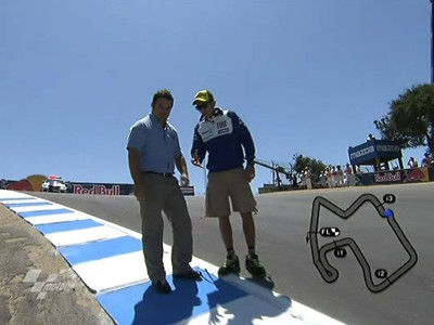 Rossi gives Corkscrew guide