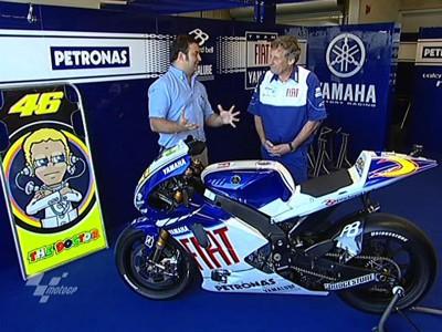 Burgess ci racconta la Yamaha M1
