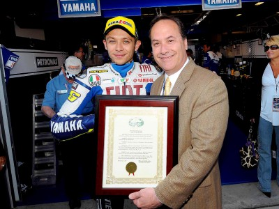 Monterey County declares 5th July 'Rossi Day'