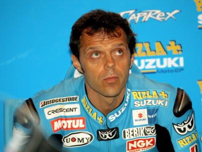 Solid start for Capirossi as crash hinders Vermeulen