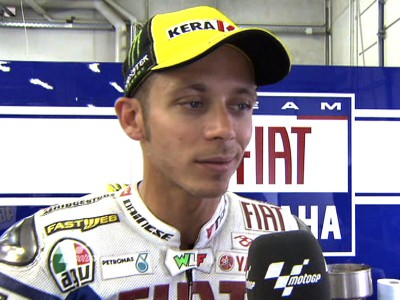 Strange Sachsenring session no bother for Rossi