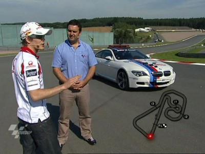 Kallio gives tour of Sachsenring