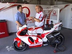La Ducati Desmosedici di Mika Kallio