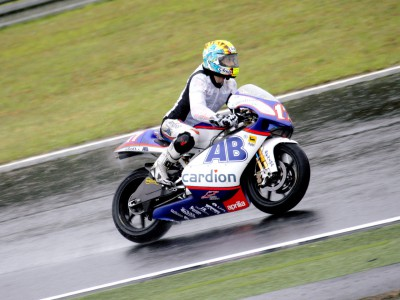 Second 250cc session gives opportunity for wet work