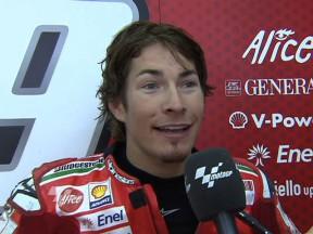 Hayden in best grid spot of 2009 so far