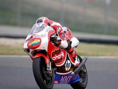 Precious dry track time as Barberá tops 250cc warmup