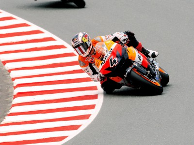 Unwanted hat trick deflates Dovizioso in Germany