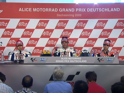 MotoGP full press conference video available