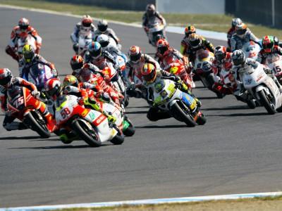 Donington Park, nuevo escenario de la apretada lucha por el título de 250cc