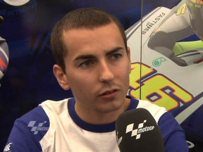 Fifth place for cool Lorenzo on day one