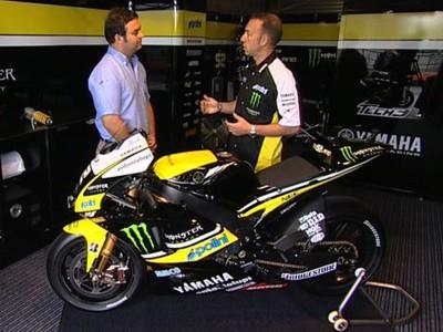 Reynders talks through Yamaha M1 details