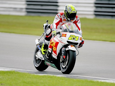 Elías happy with eighth place in QP