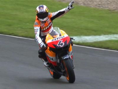 Dovizioso triomphe pour la première fois en MotoGP lors de la dernière course à Donington