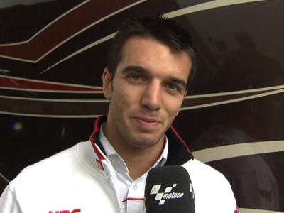 De Angelis equals best MotoGP result