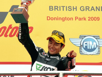 250cc racewinner Aoyama reviews Donington drama