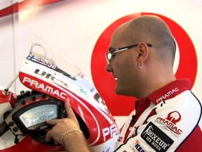 Dinâmica dos mostradores com a Pramac Racing