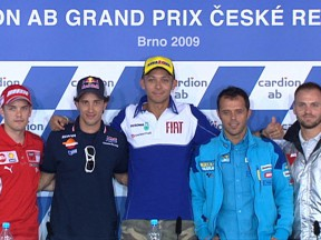 La conferenza stampa del Cardion ab Grand Prix Ceske Republiky