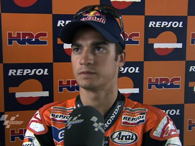 Pedrosa reflects on first day back on track