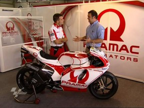 Canepa's Desmosedici GP9 explained by Rigamonti