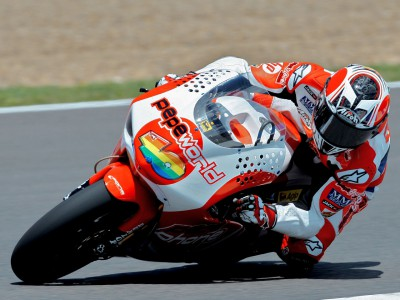 Barberá ahead again in second 250cc practice