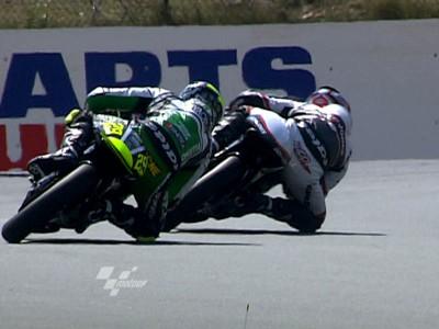 Iannone prend la pole 125cc à Brno