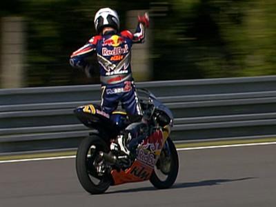 Red Bull MotoGP Rookies Cup: Marino wins 10 man epic