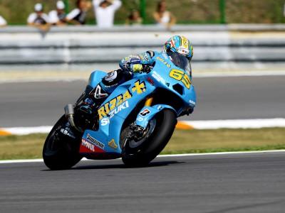 Capirossi remercie Suzuki pour leurs efforts