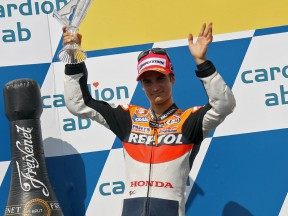 Pedrosa happy with podium return but wants to up pace