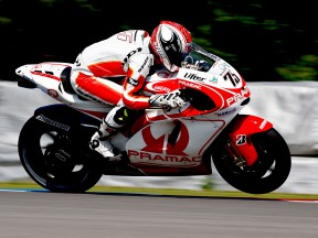 Pasini pleased with first day on MotoGP bike