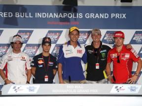 Die MotoGP erreicht das extravagante Indy in Amerika