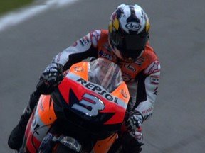 Indianapolis pole secured by scorching Pedrosa