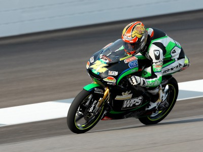 Corsi gets Sunday started with fastest 125cc warm up lap