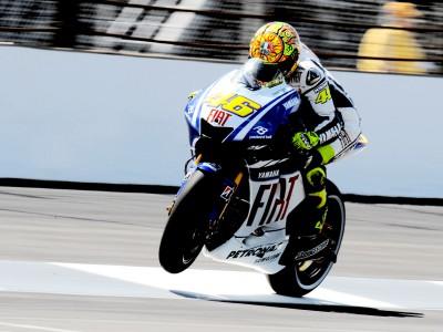 Rossi quiere resarcirse en Misano de su error en Indy