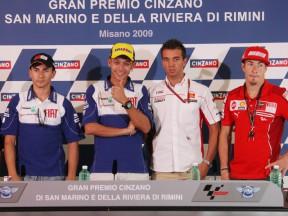 Gran Premio Cinzano di San Marino e della Riviera di Rimini: la Conferenza Stampa