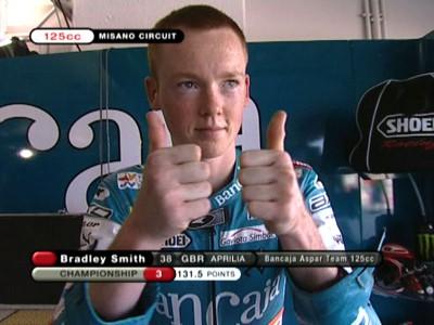 Smith prend l'avantage dans la première séance d'essais à Misano