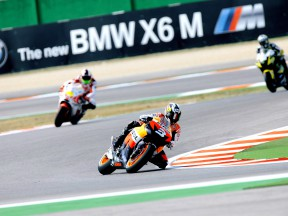 Third and fifth for Pedrosa and Dovizioso on day one