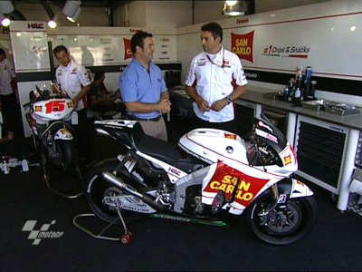 Fabrizio Cecchini über die RC212V