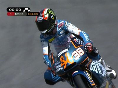 Misano 125cc pole taken by Smith