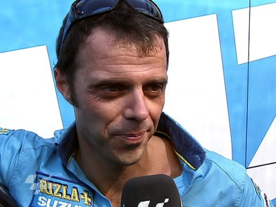 Capirossi disappointed to lose fight with Dovizioso