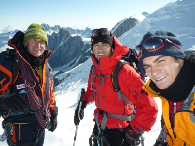 Pedrosa scala il Monte Bianco