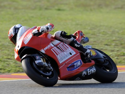 Pasini: 'This Ducati is such fun!'