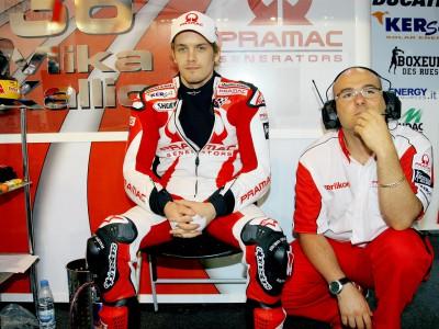 Kallio renews contract with Pramac Racing for 2010
