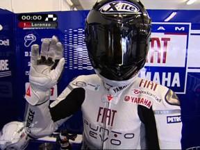 Advantage Lorenzo in first Estoril session