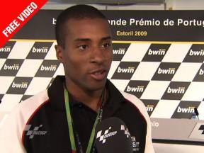 Evora, le Champion Olympique, donne Rossi gagnant à Estoril