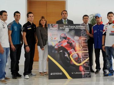 Valencia presenta el cartel del GP y espera llenar de nuevo el circuito