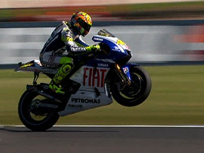 Rossi starts Phillip Island weekend on front foot