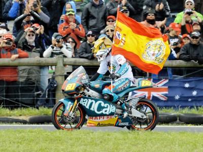 J.シモン、125ccクラス復帰でタイトル獲得