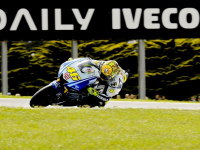 Title within touching distance for Rossi