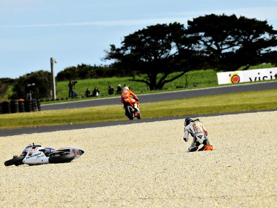 Lorenzo grateful to escape uninjured